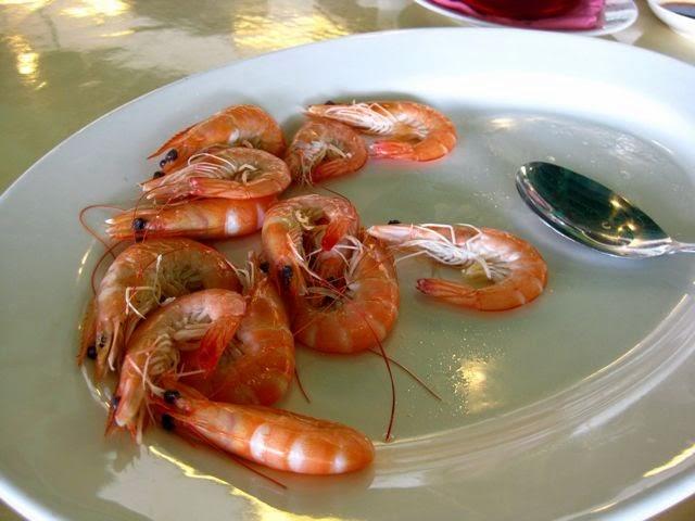 Райский остров Ламма (Гонконг) и Rainbow Seafood Restaurant, креветки