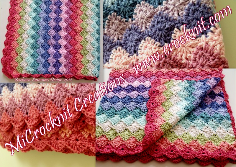 Crocheting Edges On Baby Blankets : Crochet edging baby blanket - discovery game social studies 5th grade