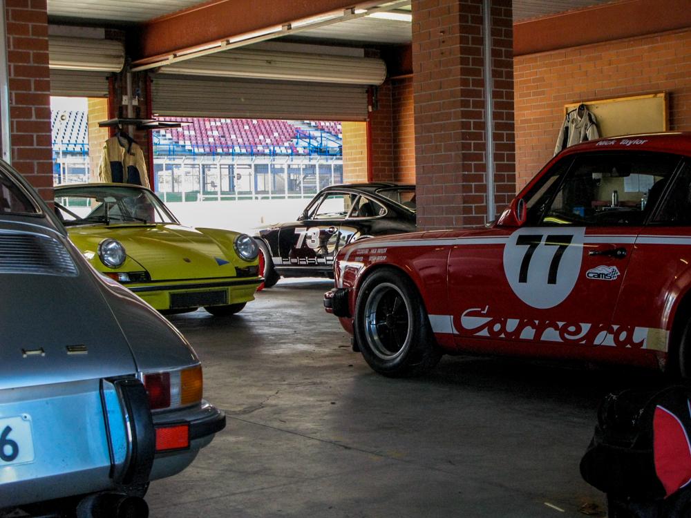 The Rolling Road More Porsche Stuff