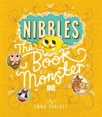 Nibbles! Invading your bookshelves this April