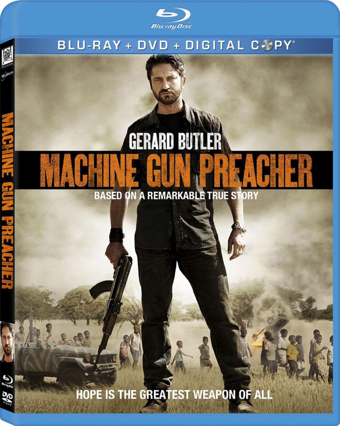 Machine Gun Preacher Blu-ray DVD Case Box