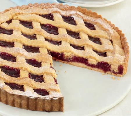 Almond and Raspberry Lattice Tart Recipes