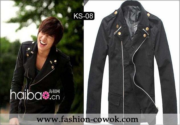 Jaket Korea Double Zippers