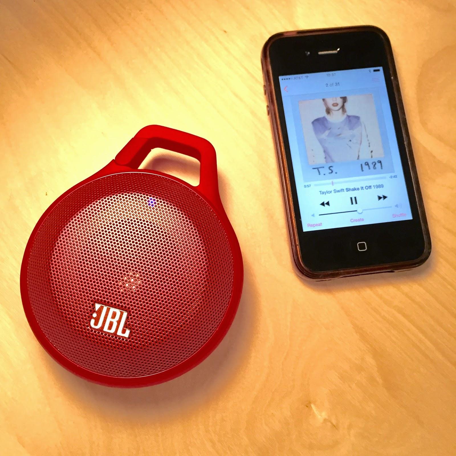 JBL clip speaker