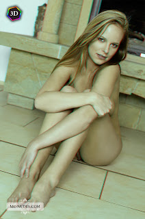 "Carmen Gemini - ""Farmhouse"" 3D by Mc-Nudes 3 (Tubbea, Beatrix, Monika A) nude redhead knees to chest"