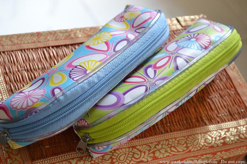 bangalore shopping spar flower brush pouch sale