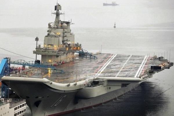 Liaoning kapal induk China