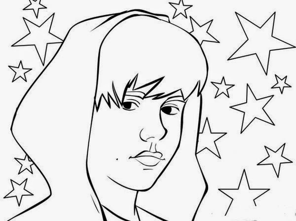 Activity Handsome Men, Justin Bieber Coloring Pages | New Coloring Pages
