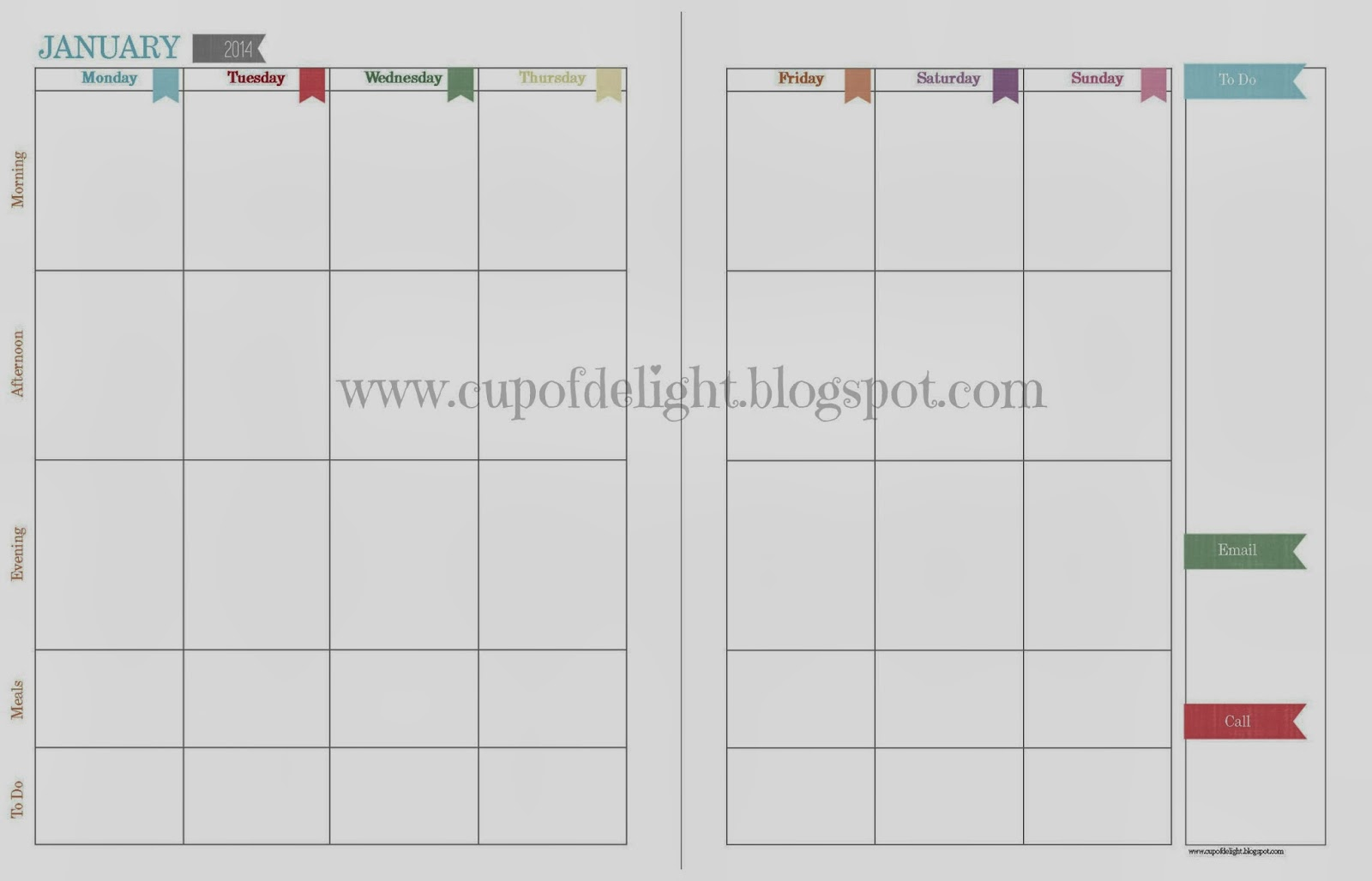 Create Your Own Printable Calendar Pages Calendar