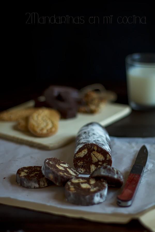 #díadeltrampantojo. Salchichón de chocolate y mi caja Degustabox