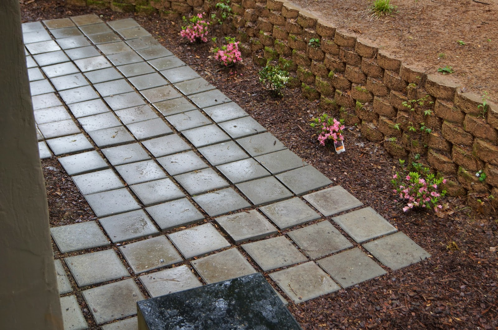 Home depot patio pavers patio design ideas - Paver designs for backyard ...