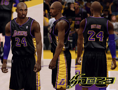 NBA 2K13 L.A. Lakers Hollywood Nights Patch