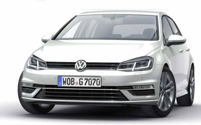 VW Golf 2017 com facelift