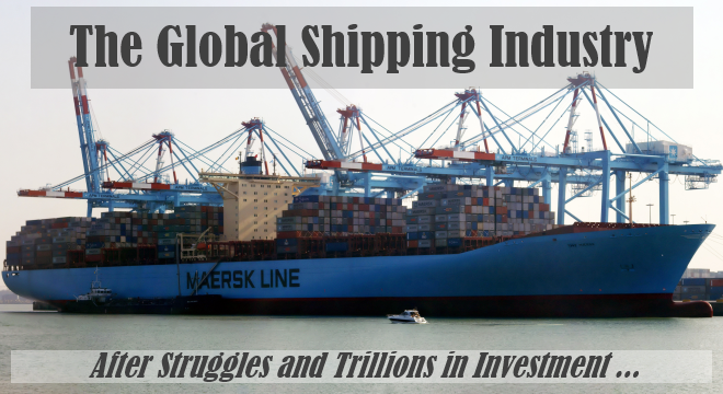 shipping industry after struggles and investment