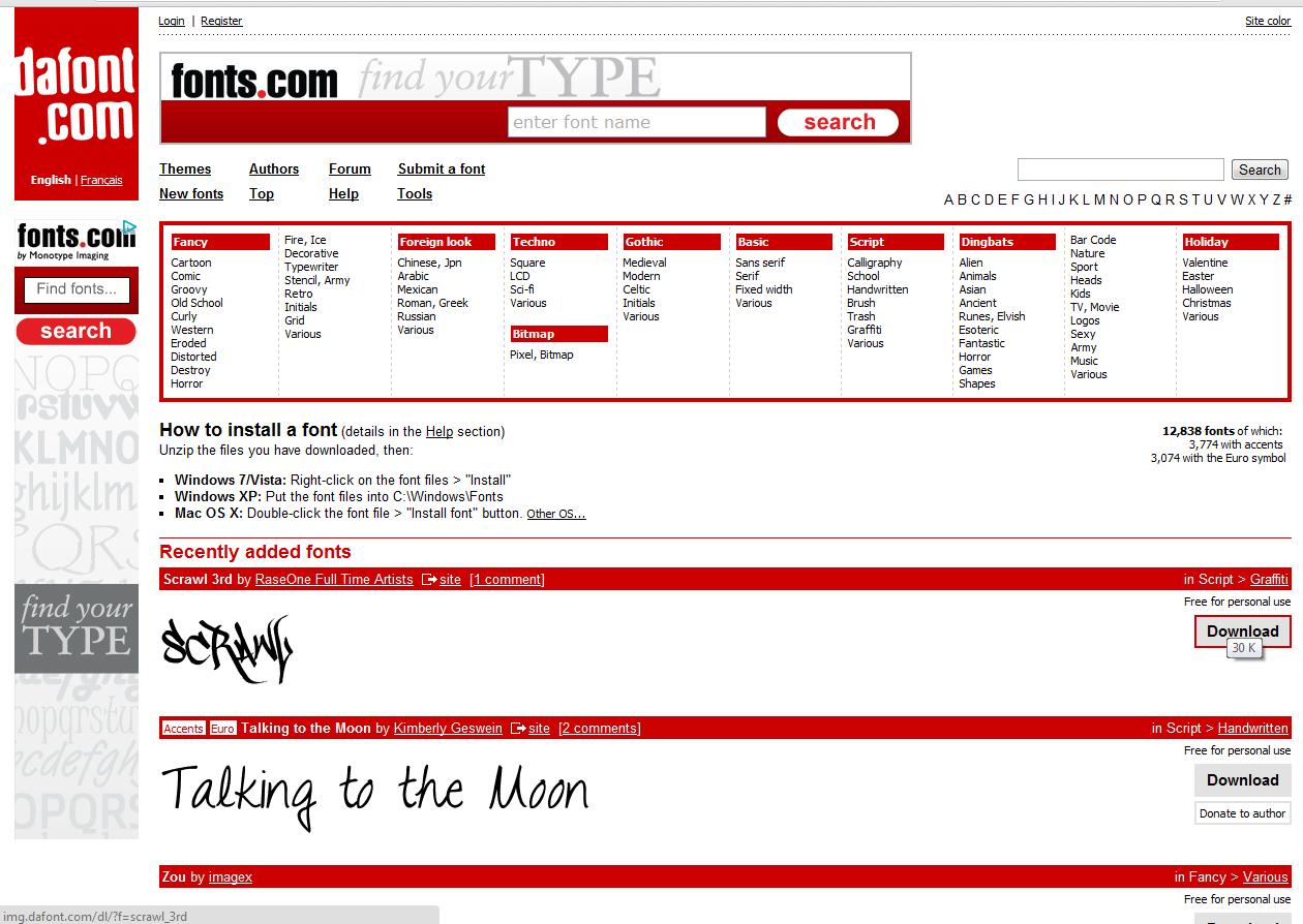 paginas para editar