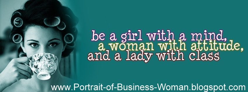 Portrait of The Todays Business Woman