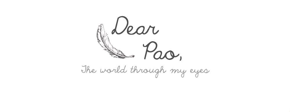 Dear Pao,