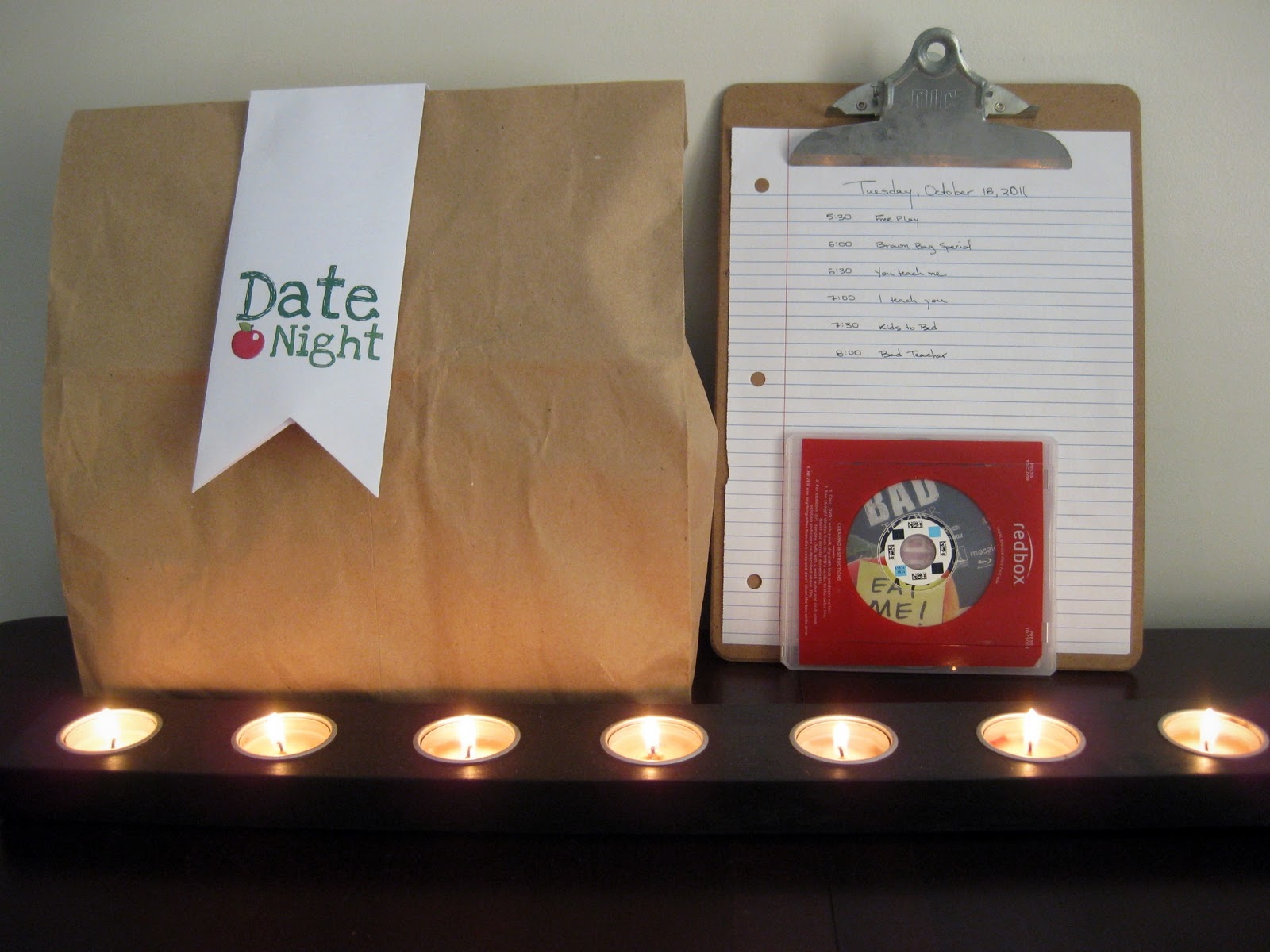 Date night ideas for him at home