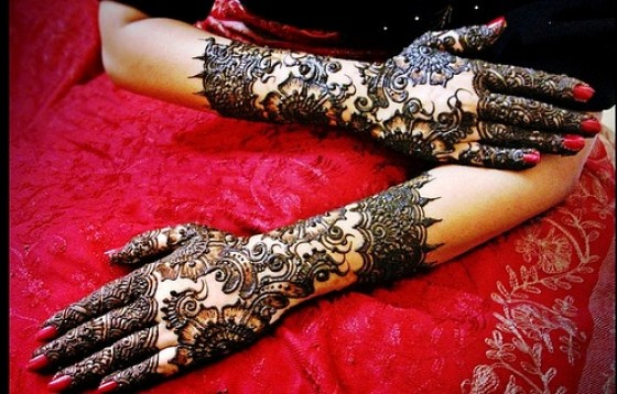 New Party Mehndi Designs : Mehndi style indian bridal designs