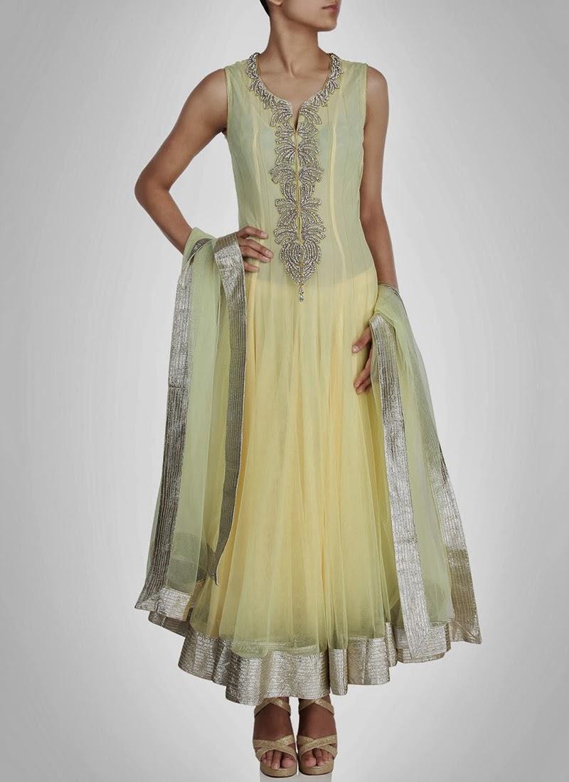 NewDesignsofLongAnarkaliSuitsCollection201428329 - New Designs of Long Anarkali Suits Collection 2014
