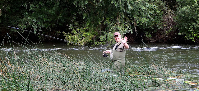 Martin up his balls in it trundling meat for barbel