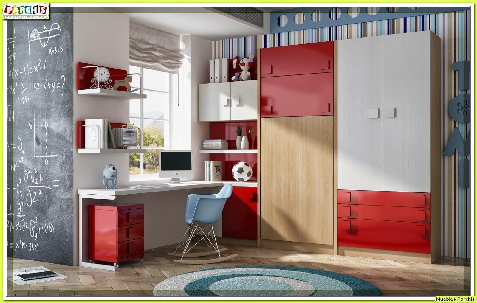 Muebles juveniles dormitorios infantiles y habitaciones juveniles en madrid muebles - Muebles literas abatibles ...