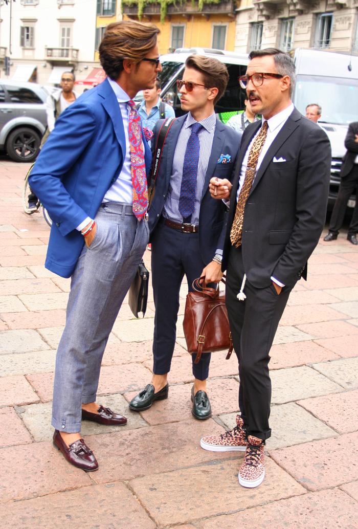 Redlipsswearing Milan Fashion Week Street Style Menswear