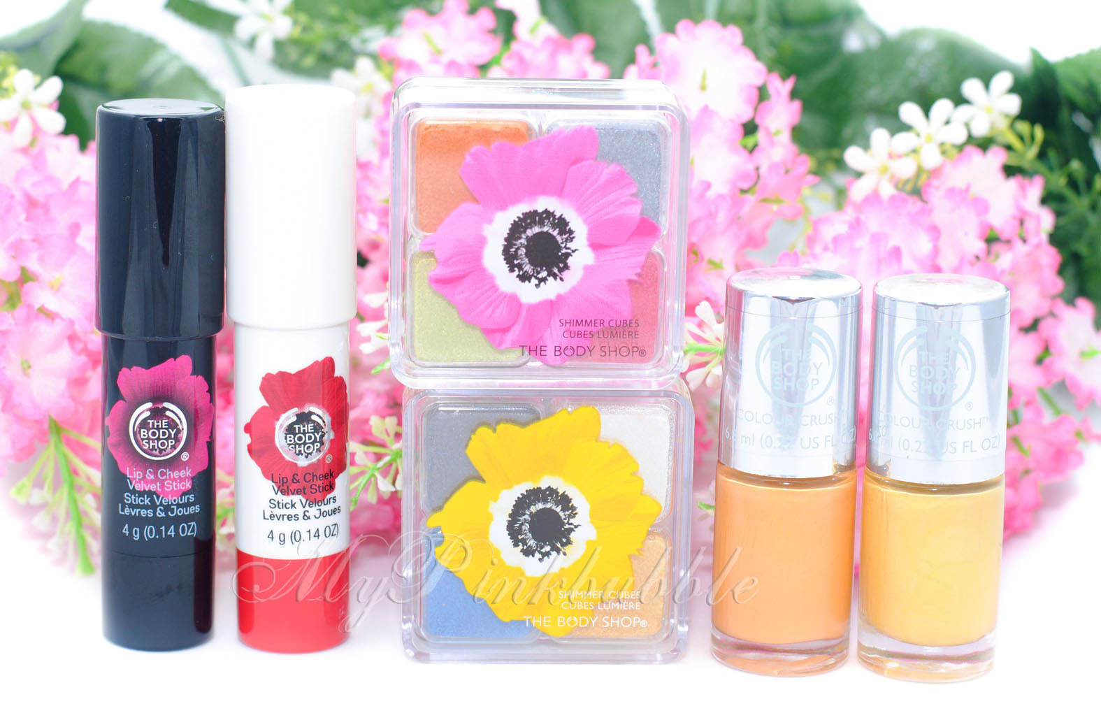 Coleccion poppy body shop