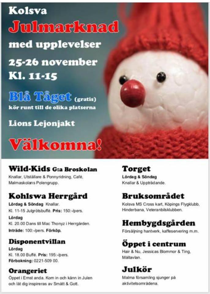 Julmarknad i Kolsva