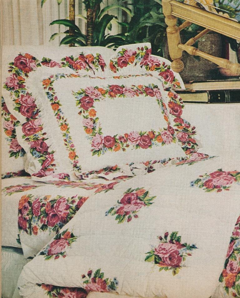 Hand painted bed sheet designs best image wallpaper for Bed sheet design images