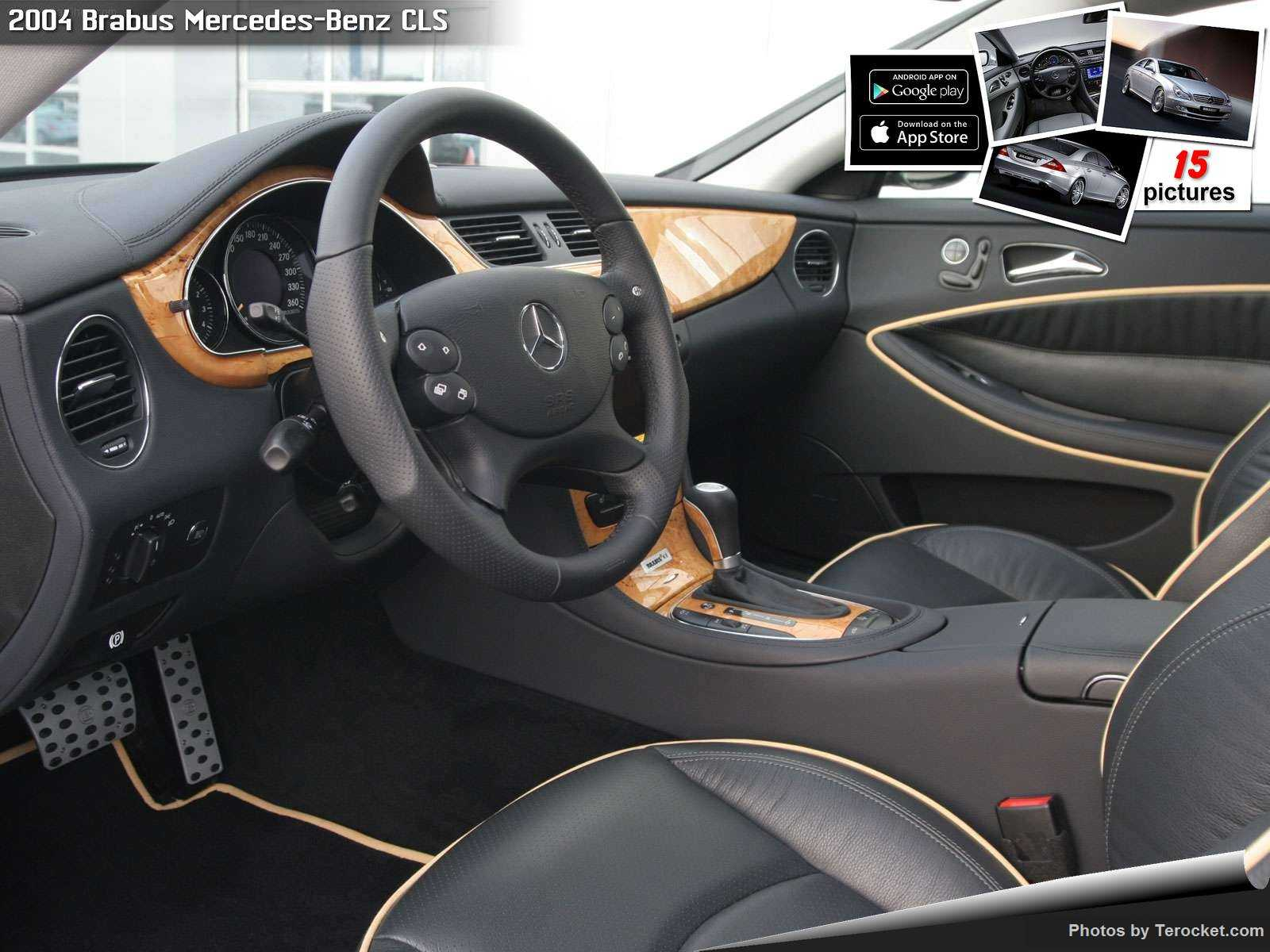 Hình ảnh xe ô tô Brabus Mercedes-Benz CLS 2004 & nội ngoại thất