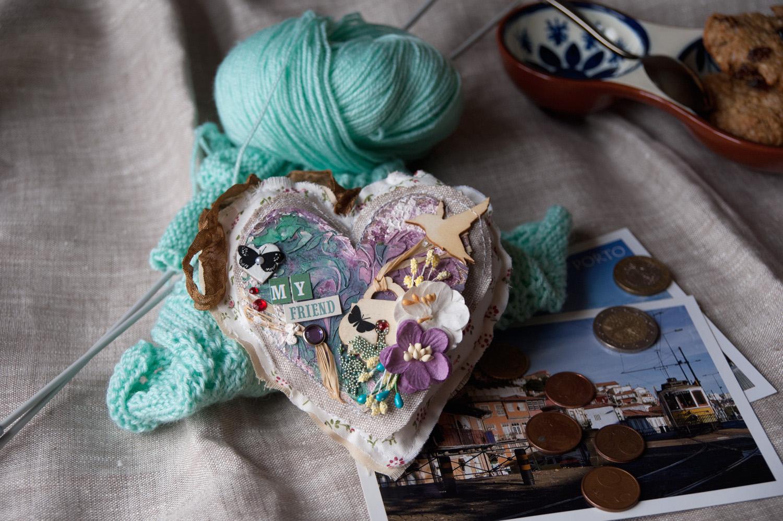 сердце+текстиль