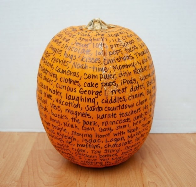 Creative Family Pumpkin