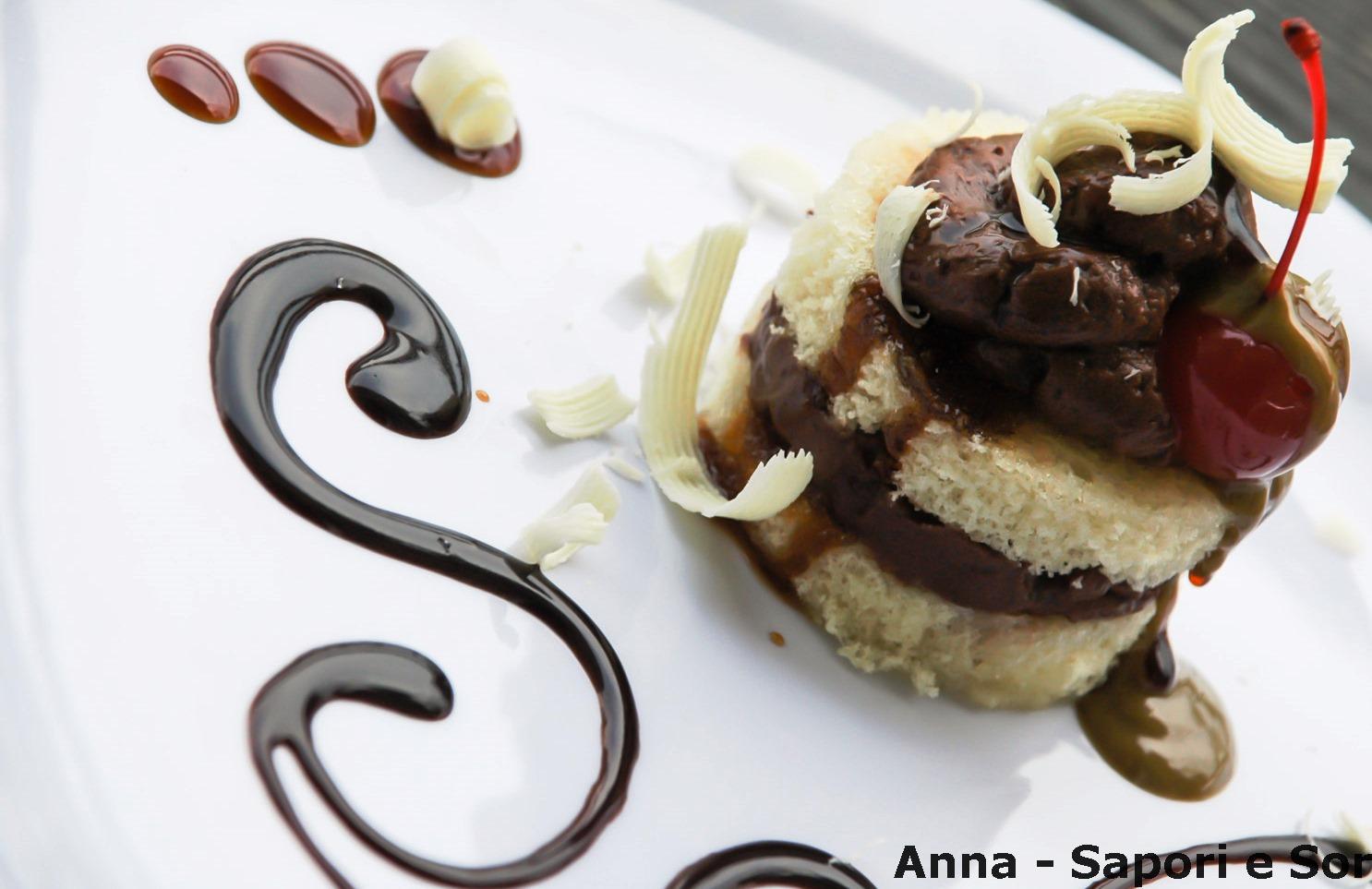 ANNA-SAPORI E SORRISI: Decorazione piatto dolce