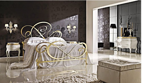 Luxury bedroom with luxurious dressing table