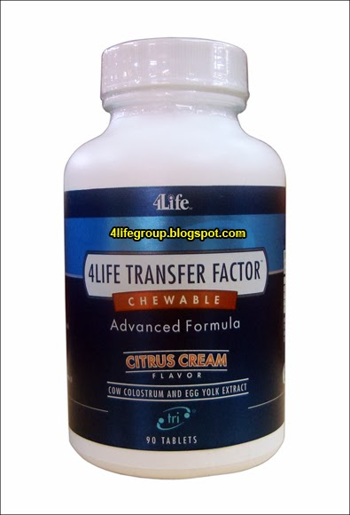 foto 4Life Transfer Factor Chewable (Bungkusan Lama)