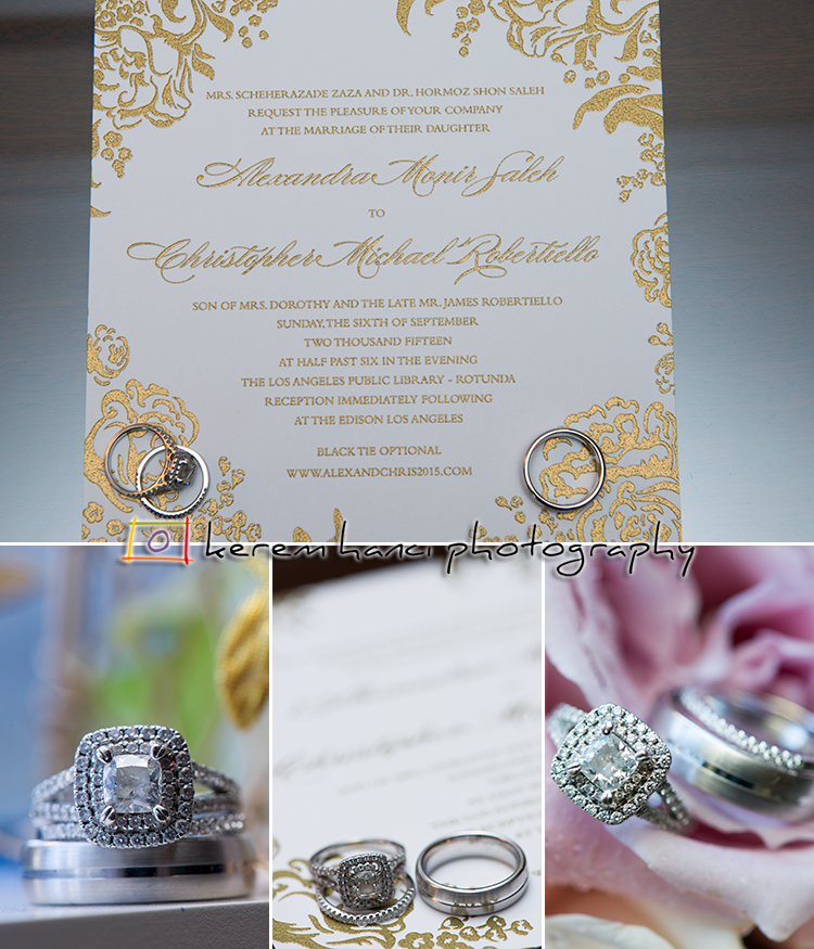 When taking the detail photos of the wedding rings, we make sure we provide our clients with a variety of shots.