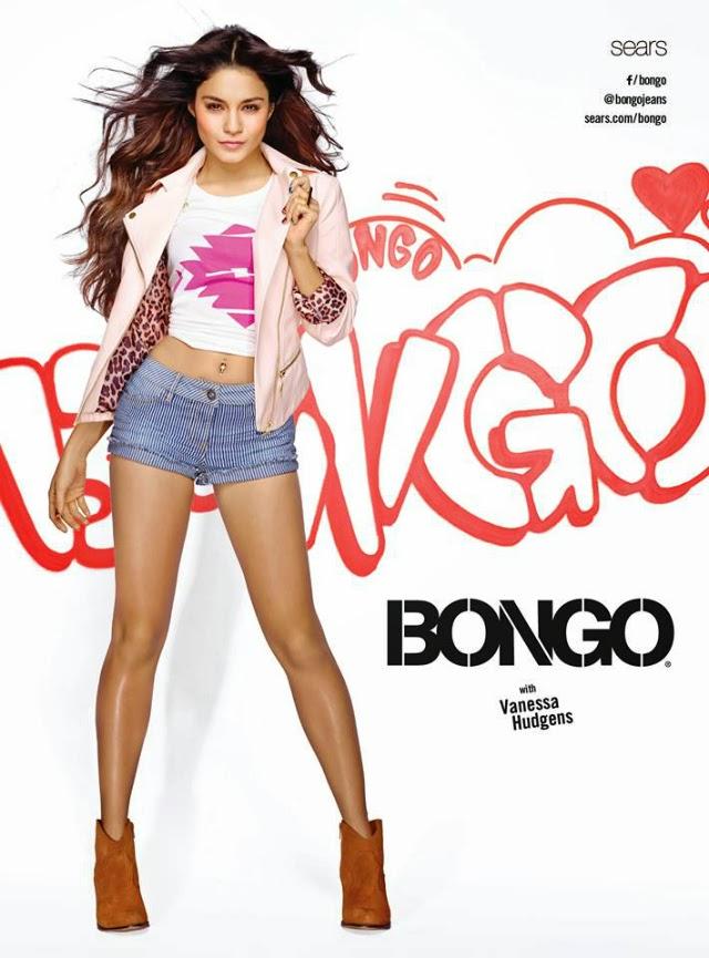Vanessa Hudgens es la nueva imagen de Bongo