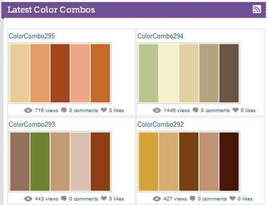 Combination Of Colors Adorable With Most Popular Color Combinations Images