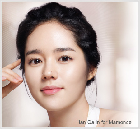 Korean Actress Han GA