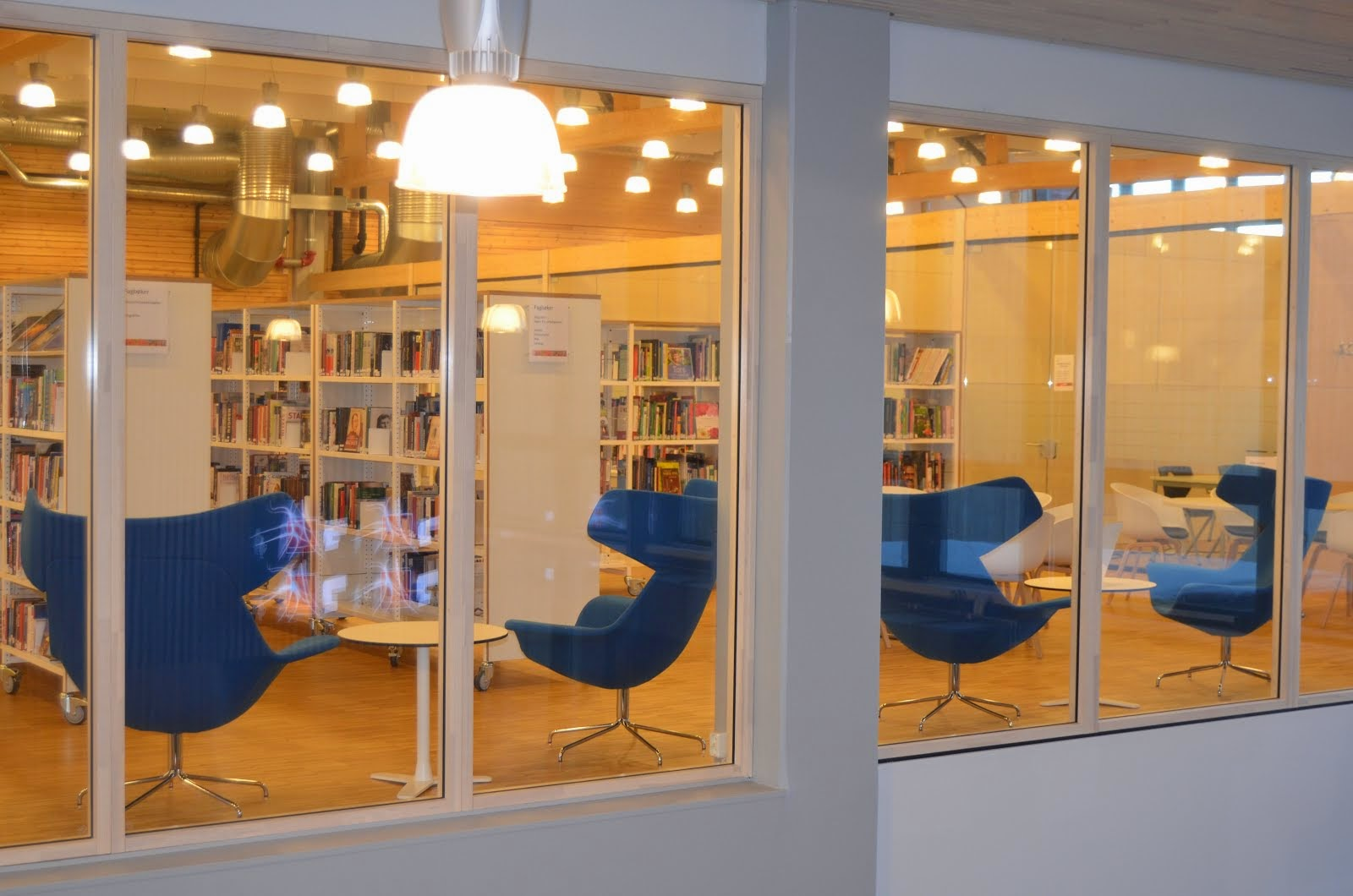 Innsyn til biblioteket