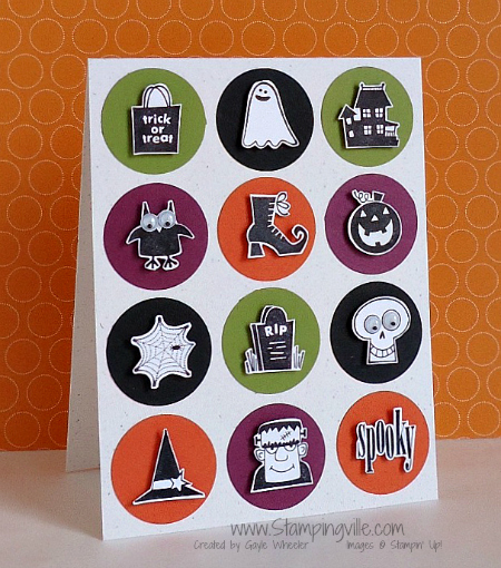 Spooky Bingo Bits Stamp Set by Stampin' Up!