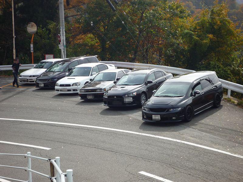 Subaru Legacy III & Toyota Corolla Levin AE86 & Mitsubishi Lancer X