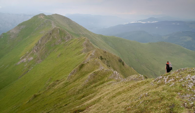 creasta oslea muntii valcan