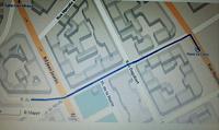 Plan de l'accueil de Clichy