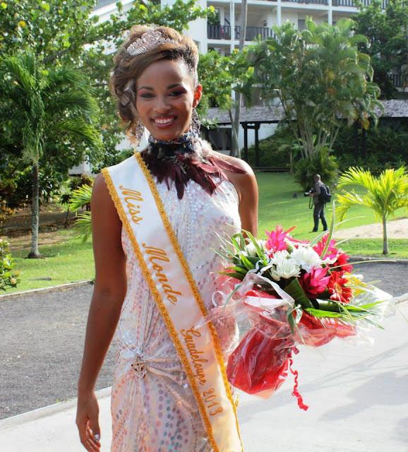 Miss Monde World Guadeloupe 2013 Sheryna van der Koelen