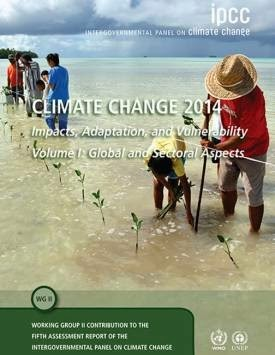 Climate Change 2014: Impacts, Adaptation and Vulnerability report cover