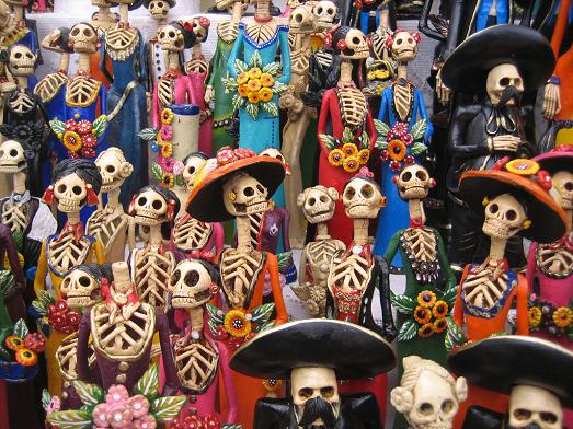 dead mexican dolls