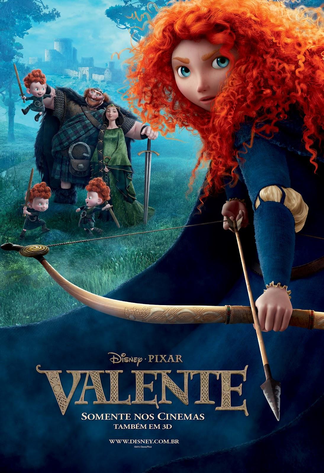 Pôster/capa/cartaz nacional de VALENTE (Brave)