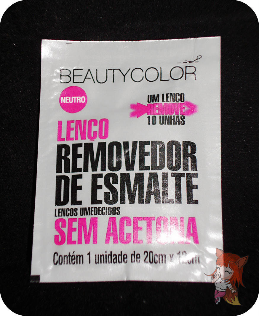 Lenços Removedores de Esmalte Beauty Color : Review
